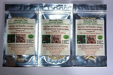 Organic 100% Tongkat Ali - 350mg x180 Vegetarian Capsules - Eurycoma longifolia