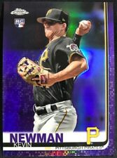 2019 Topps Chrome Purple Refractor /299 Kevin Newman RC Pirates Rookie
