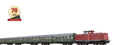 Brawa 45915 AC Digital SOUND+ Sonderfahrt Schwäbische Waldbahn-BR 212 + 3 Umbauw