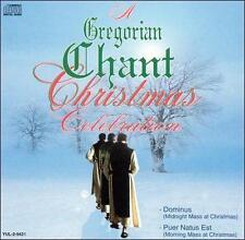 A Gregorian Chant Christmas Celebration Various Artists MUSIC CD