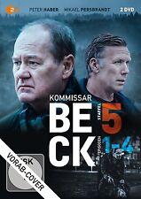 KOMMISSAR BECK - STAFFEL 5, EPISODEN 1-4  2 DVD NEU  P.HABER/M.PERSBRANDT/+