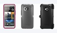 New!! Otterbox Defender Series Case For HTC One M7 + Belt Clip