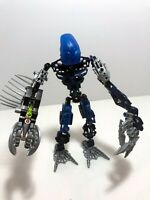 LEGO Bionicle LOT: Blue MOC from various bionicle parts. Assembled.