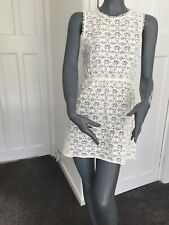Topshop Size small Lace Backless Dress