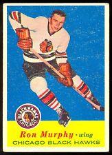 1957-58 TOPPS HOCKEY #29 RON MURPHY VG-EX CHICAGO BLACK HAWKS