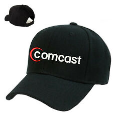 COMCAST CABLE EMBROIDERED BASEBALL CAP ADJUSTABLE