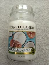Yankee candle 'Coconut Splash' large jar