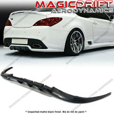 For 10-16 Hyundai Genesis Coupe Walker Style Rear Bumper Lower Lip Diffuser Kit