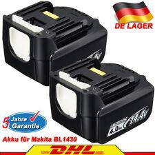 14,4V BL1430B BL1415 Li-ion LXT BDF343 BFS440 A+ BL1440 Akku für Makita 4.0Ah