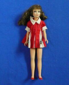 Vintage Barbie Skipper Doll - MOD Era Brunette Sausage Curl Skipper Doll
