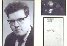 JOHN OGDON SIGNED AUTOGRAPH