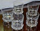 VINTAGE QTY 5 RARE Vicke Lindstrand Kosta --- DOUBLE Old Fashioned GLASS SET