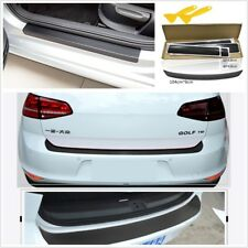 Sticky Scuff Plate Car Door Tail Lip Sill Sticker Panel Decal Protect Waterproof