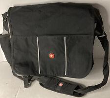 Swiss Gear 3 Pocket 18x4x13 Laptop Bag With Adjustable Shoulder Strap & Clips