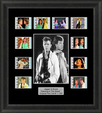 Dancing in the Street Framed 35mm Film Cell Memorabilia Filmcells David Bowie