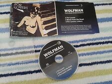 WOLFMAN / PETER DOHERTY- FOR LOVERS/LIBERTINES UK MAXI CD SINGLE E.P ENHANCED