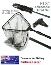 TELESCOPIC FISHING LANDING NET - TROUT FISHING OR ANY SMALL TO MED FISH SIZE!