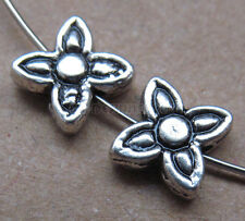 20pc Retro Tibetan Silver Flower Spacer Beads Jewelry Findings Wholesale B0134P