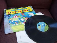 SMURF K-tel Record 1981 Vinyl album ALL STAR SHOW record*