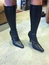 Women's black boots - size 6