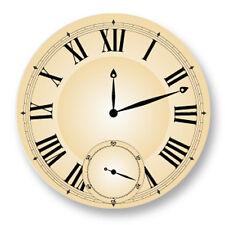 Porte clé Keychain Ø45mm Symbole Horloge Montre Clock Heure Minute Gousset