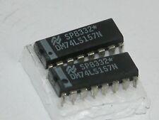 2pk - 74LS157  - 16 Pin Dip Pkg ICs
