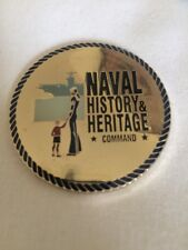 Naval History and Heritage Command Coin C1