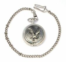 Barn Owl Style Pocket Quartz Watch Gift Boxed FREE ENGRAVING Wildlife Gift
