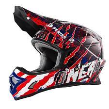 O'Neal 3Series MX Helm Mercury Rot Schwarz Moto Cross Enduro Quad Motorrad USA