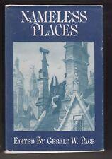 Nameless Places, RAMSEY CAMPBELL, BRIAN LUMLEY, Arkham House, 1975 HC w/DJ  r