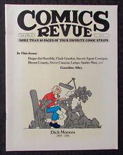 1986 COMICS REVUE Magazine #17 FVF 7.0 Dick Moores / Flash Gordon / Spider-Man