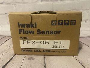 NEW IN BOX! WALCHEM IWAKI Metering Pump Flow Sensor EFS-05-FH