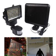 Solar Powered 60 LED Outdoor Motion Activated Detector Sensor Garden Light