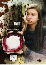 The Walking Dead Season 5 Costume Relic Card Enid 48/50