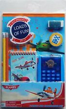 DISNEY PLANES DUSTY 7-Pc Back-to-School Stationery & Calculator Supplies Set $12