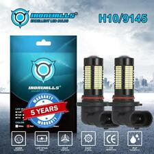 IRONWALLS H10 9005 9145 LED Fog Driving Light Bulb Headlight Conversion Kit 100W
