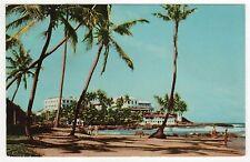 MOUNT LAVINIA HOTEL PC Postcard SRI LANKA Ceylon DEHIWALA ASIA Beach STAMPS