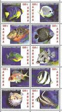Aruba 2011 Vissen Fish Fische MNH