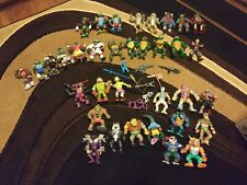 Vintage TMNT 1980s & 1990s Action Figures lot/Weapons and Accessories. Playmates