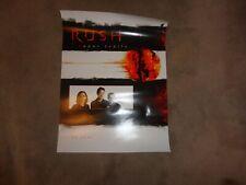 RUSH 2002 Canadian Vapor Trails Tour Poster MINT!!!