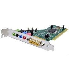 eDio SC3400D 4-Channel 3D Live Theater PCI Sound Card--Brand NEW