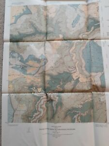 USGS Geologic Map of the Horse Range Mesa Quad San Miguel County Colorado/1955