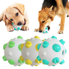 Pet Toy Tooth Cleaning Ball Molar Dog Toothbrush Interactive Training Dog Toy #