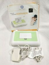 Prince Lionheart Compact Travel Wipes Warmer w/ 2 Adapters Green