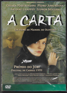 A CARTA (THE LETTER) R2 DVD PORTUGESE IMPORT MANOEL DE OLIVEIRA VGC