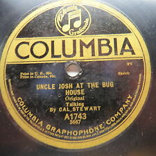 Cal Stewart - COLUMBIA A1743 - Uncle Josh At The Bug House