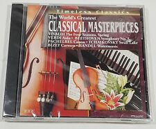 Timeless Classics The World's Greatest Classical Masterpieces Music CD *