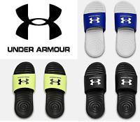 Under Armour Youth/Boys Ansa Fix SL Slides Sandals  - NEW - FREE SHIP - 3023789
