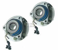 2 New Front Wheel Hub Bearing Assemblies for 2004-09 Cadillac SRX AWD Only