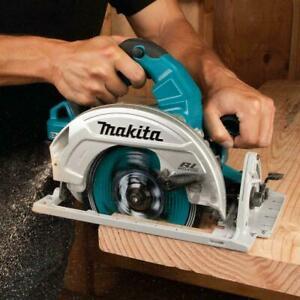 "New Makita XSH06 18V X2 LXT 36V Brushless 7‑1/4"" Top Handle Circular Saw Only"